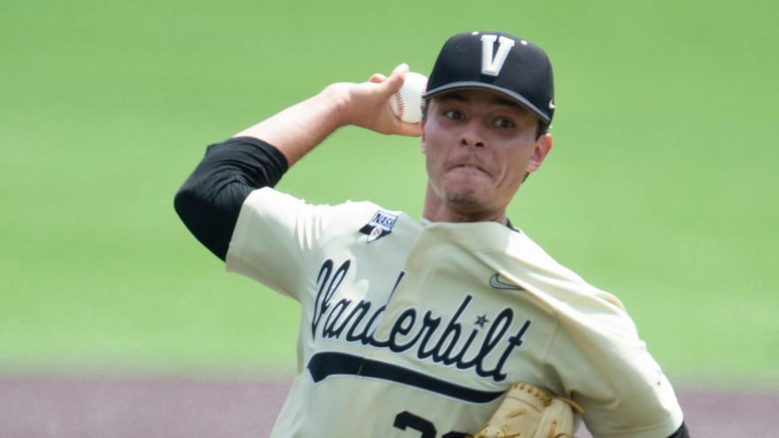 Vanderbilt ace Jack Leiter reportedly wants Red Sox to draft him