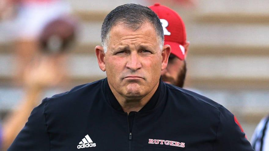 Greg Schiano was the Michigan head coach for six hours