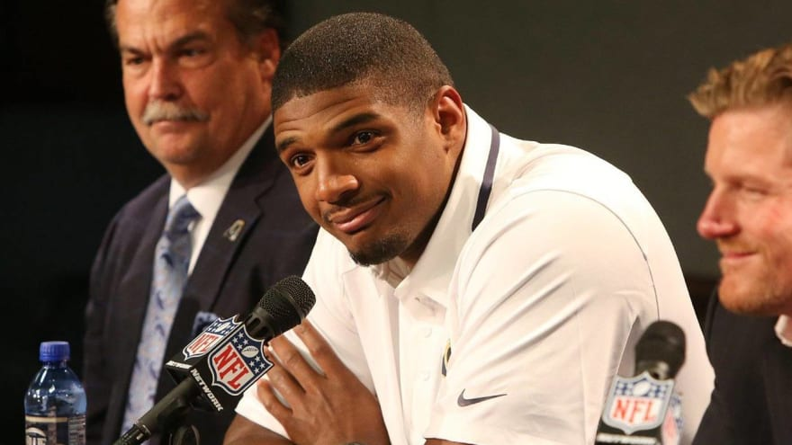 Michael Sam sends first tweet since inclusion in Jon Gruden email