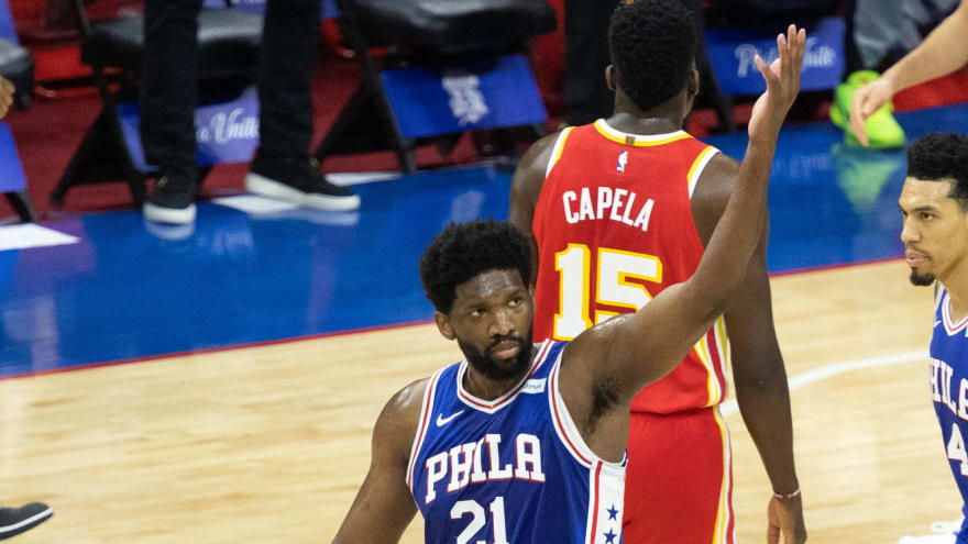 Embiid scores 40 as Sixers rebound in Game 2 win, 116-102