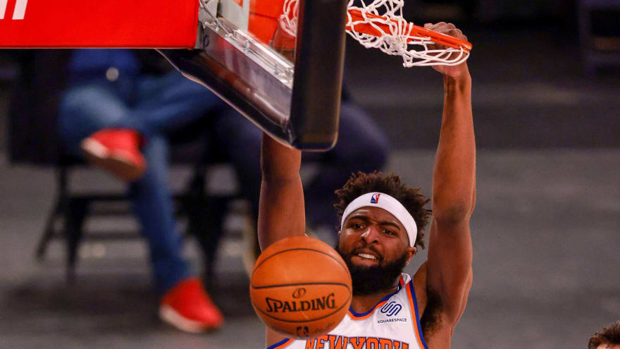 Knicks exercise team option on Mitchell Robinson, waive Norvel Pelle