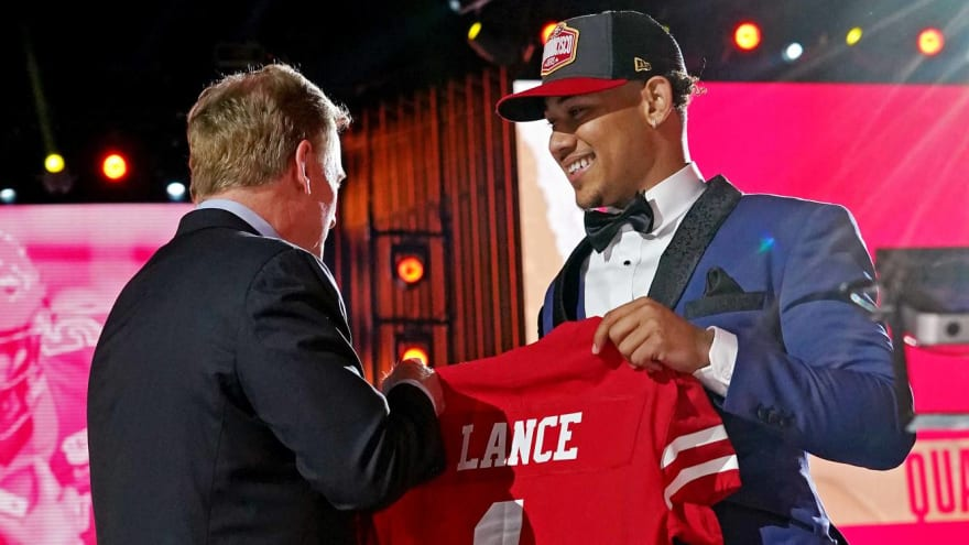 49ers kept everyone in the dark about Trey Lance draft pick
