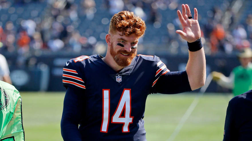 Bears fans show support for Andy Dalton with charity drive