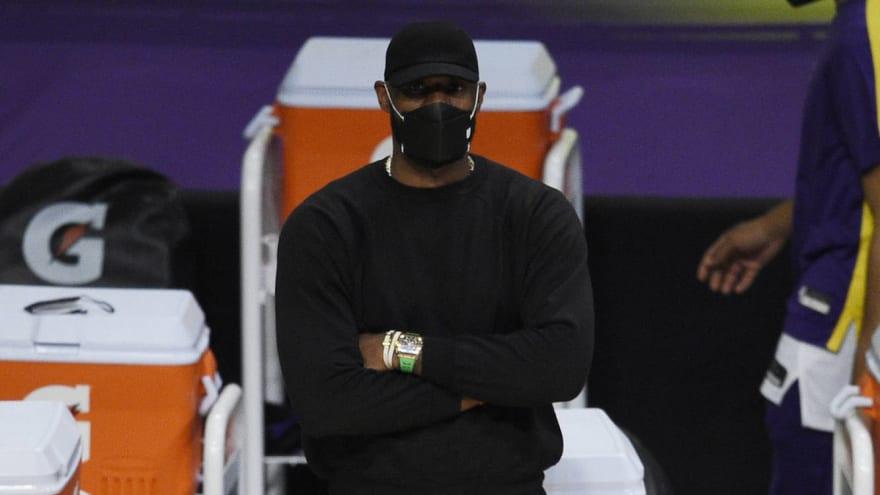 LeBron James targeting Tuesday for return