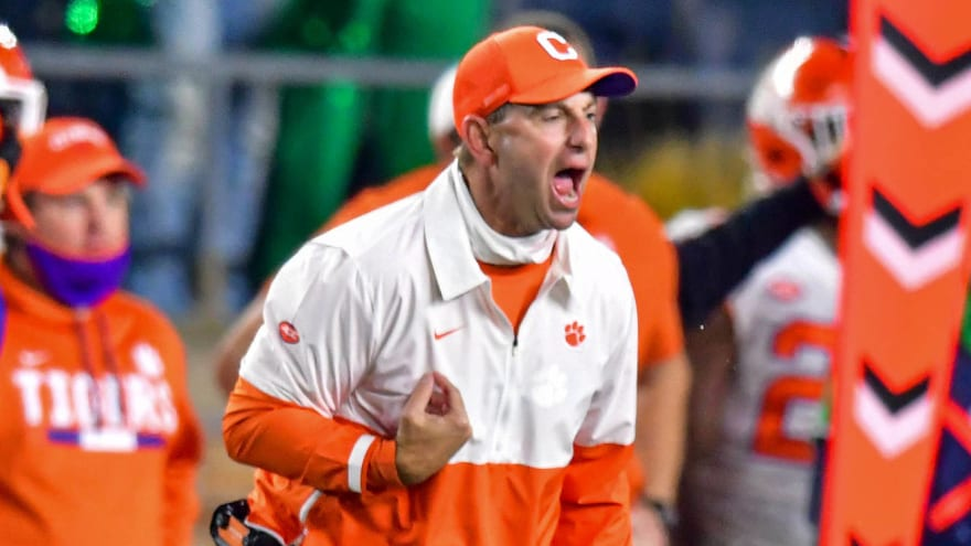 Dabo fires back at SEC commish over schedule comments