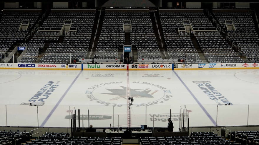 Golden Knights-Sharks games postponed due to COVID
