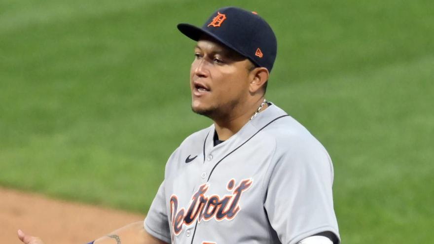 Tigers place Miguel Cabrera on 10-Day IL, select Renato Nunez's contract