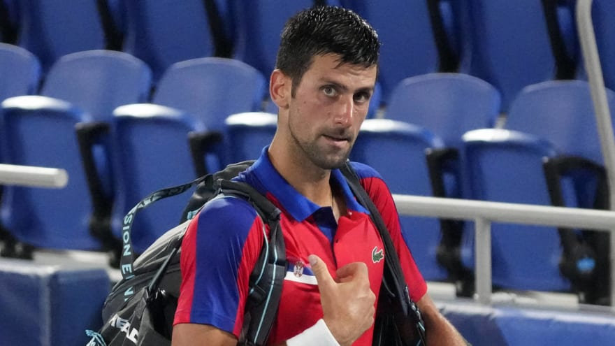 Djokovic denied bronze medal at Olympics with loss
