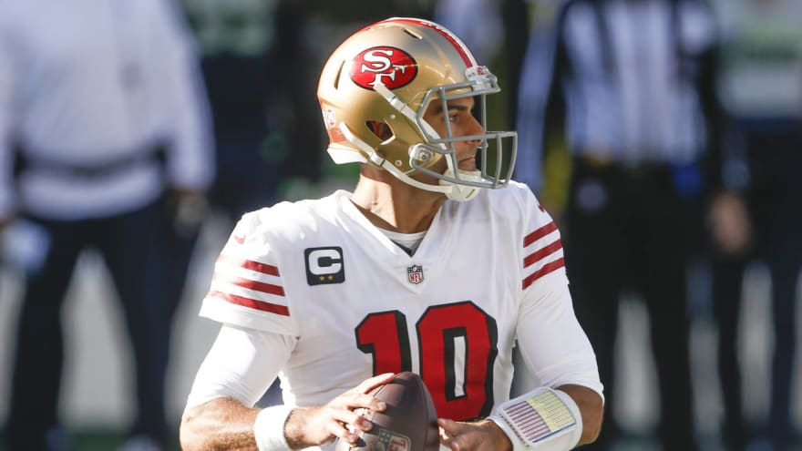 49ers reportedly want first-round pick for Jimmy Garoppolo
