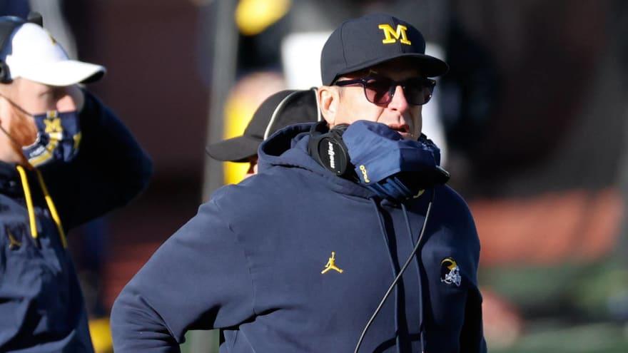 Michigan seeking major changes to Jim Harbaugh's contract?