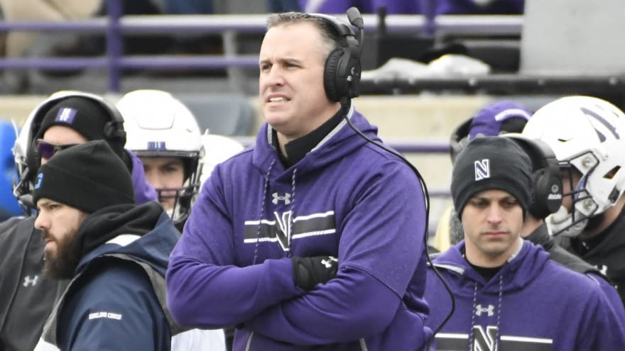 Lions, Falcons, Texans eyeing Pat Fitzgerald for HC job?