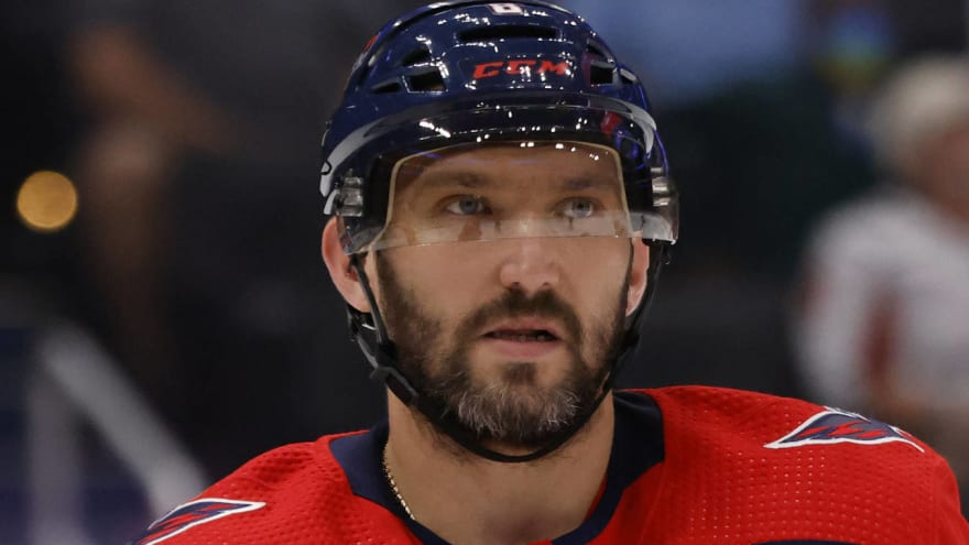 Ovechkin game-time decision for opener vs. Rangers