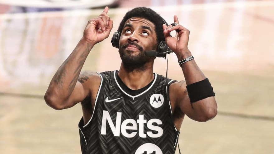 Kyrie Irving 'liking' COVID-19 conspiracy theories online