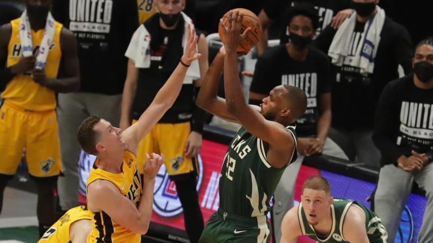 NBA world reacts to Khris Middleton's game-winner