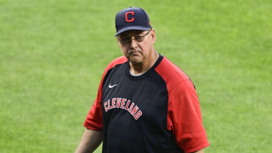 Cleveland manager Terry Francona steps down for rest of season