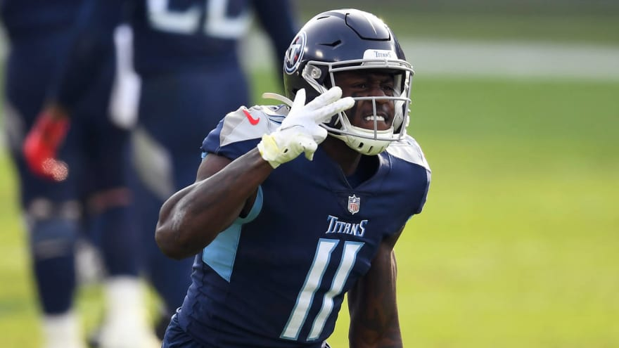 Titans' A.J. Brown is excited about Julio Jones trade