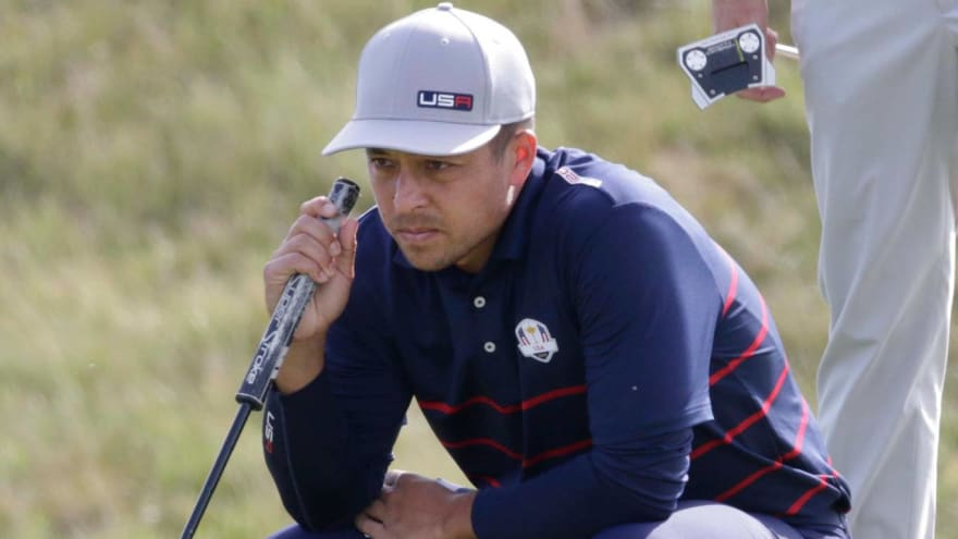 Schauffele: Message from Tiger helped at Ryder Cup