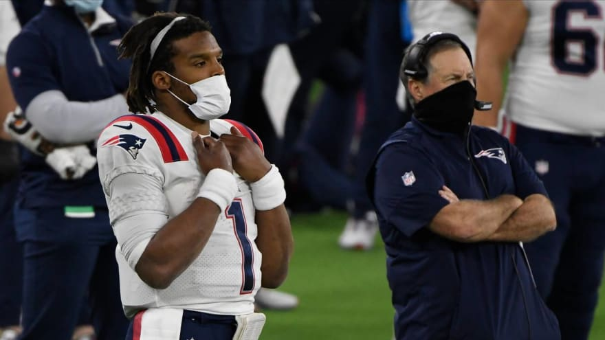 Belichick explains why he is sticking with Newton