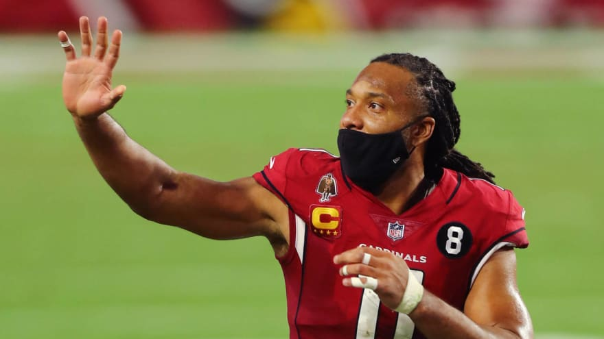 Cardinals want WR Larry Fitzgerald back if he wants to play?