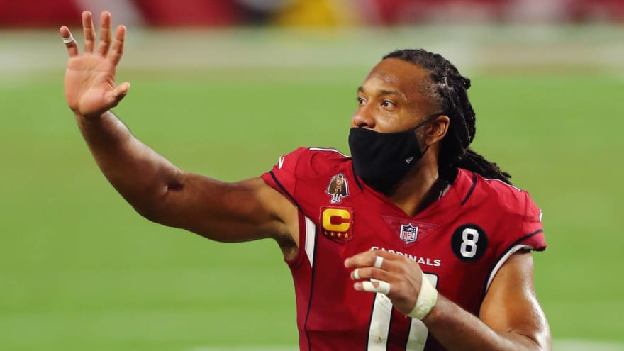 Larry Fitzgerald giving no hints about retirement decision