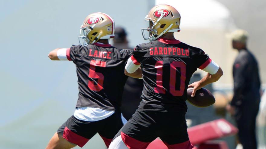 49ers plan to start Jimmy Garoppolo over Trey Lance