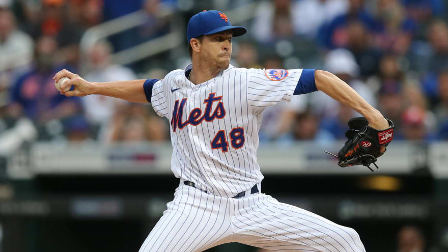 Mets ace Jacob deGrom not too concerned about elbow injury