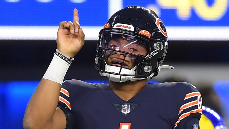 Bears QB Justin Fields improving via first-team reps ahead of Browns game?