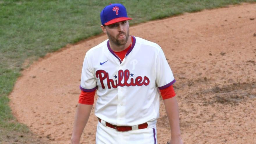 Phillies outright Heath Hembree, Adam Morgan