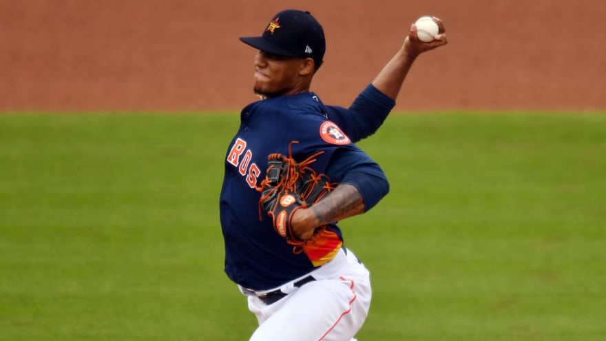 Astros have eight pitchers in COVID-19 protocols