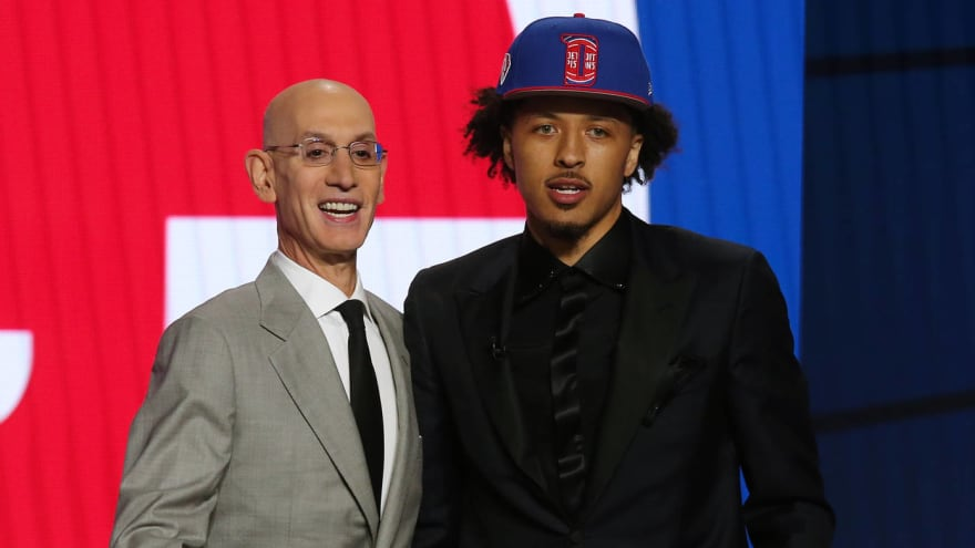Pistons select Cade Cunningham with No. 1 pick in 2021 draft