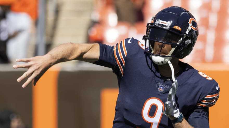 Nick Foles captured on video saying Bears' offense not working?