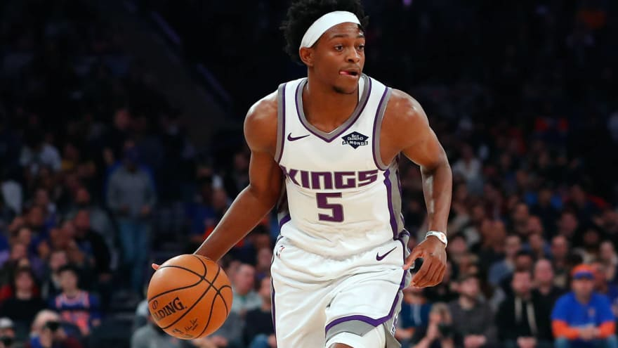 Kings star De'Aaron Fox out up to a month with ankle injury