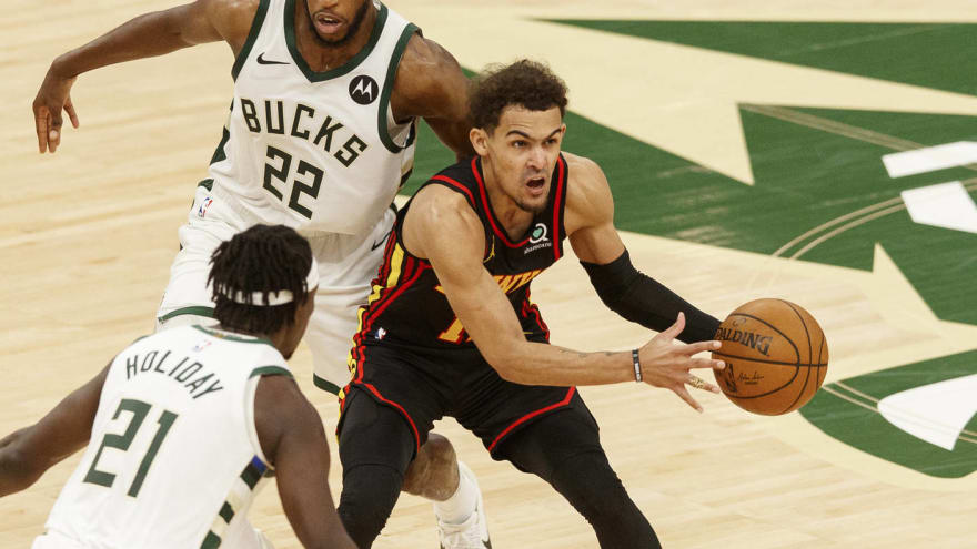 Trae Young takes blame for Hawks' Game 2 blowout loss