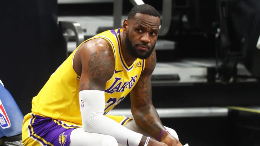 Lebron James to miss first game of season against Kings