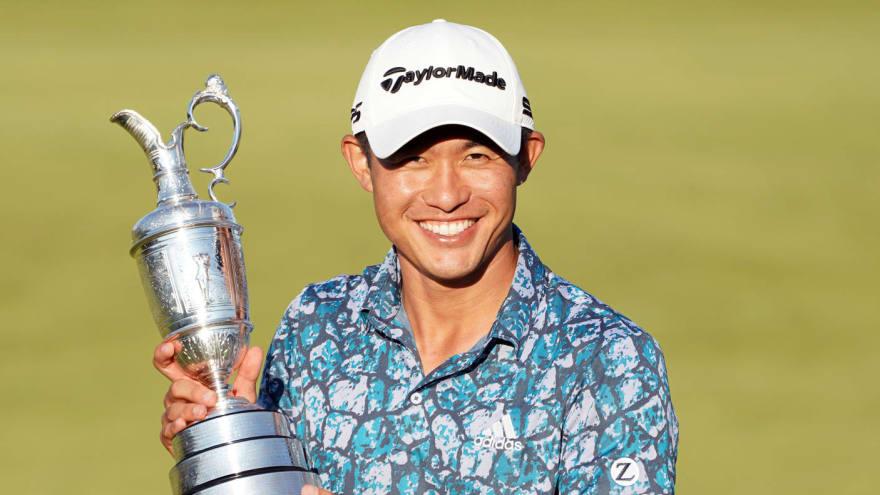 Collin Morikawa wins British Open