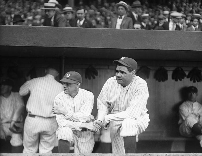 Babe Ruth vs. Miller Huggins