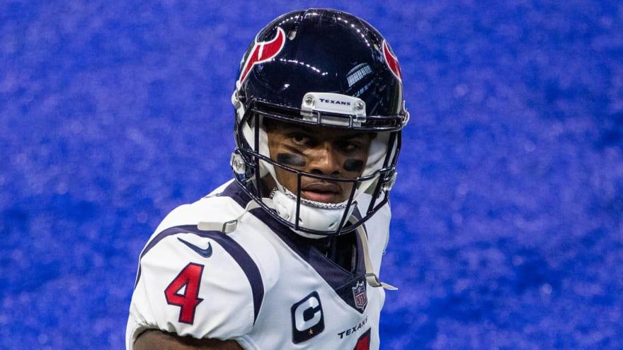 Deshaun Watson not speaking to Houston Texans organization