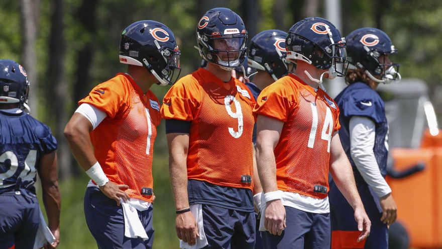Nagy: 'All 3' QBs 'under consideration' to start vs. Lions