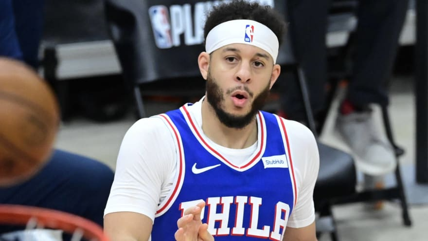 Fans react to Seth Curry's play in 76ers' series-clinching win