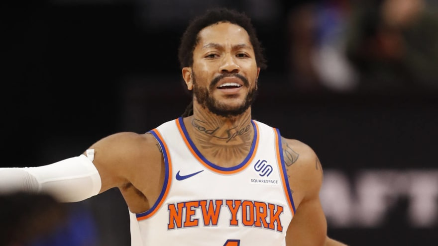 Derrick Rose pays shockingly little attention to the rest of the NBA