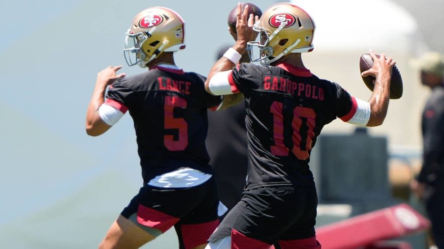Lance: Garoppolo 'one of the best people I've been around'