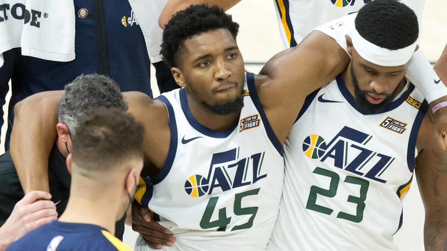 Donovan Mitchell avoids serious ankle injury vs. Pacers?