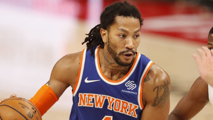 Derrick Rose on track to return to Knicks