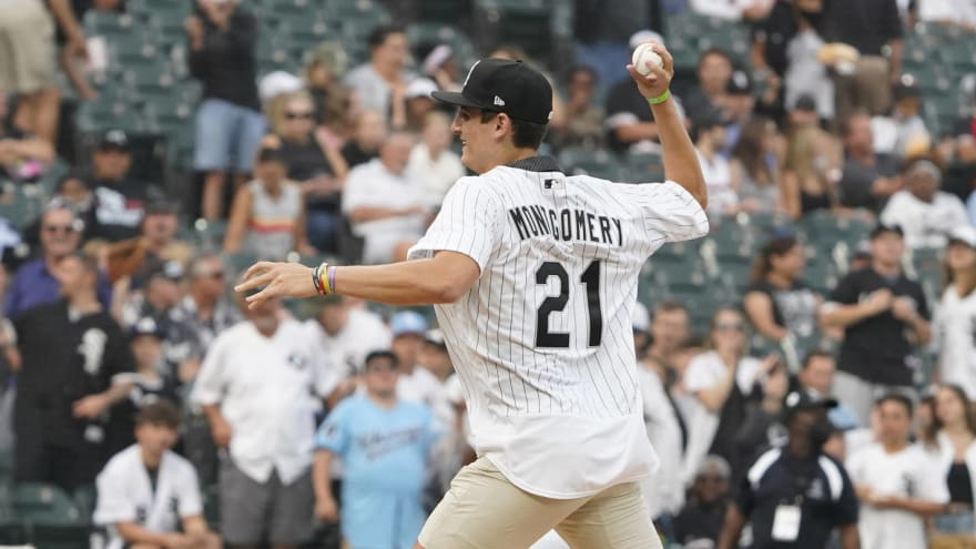 White Sox sign first-round pick Colson Montgomery