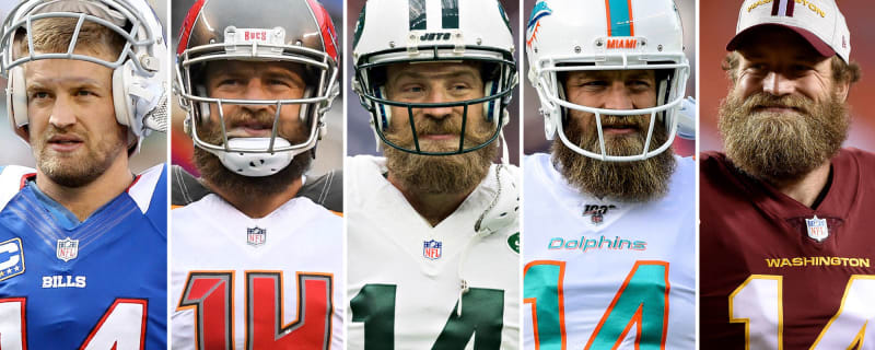 NFL QBs who have started for five or more teams