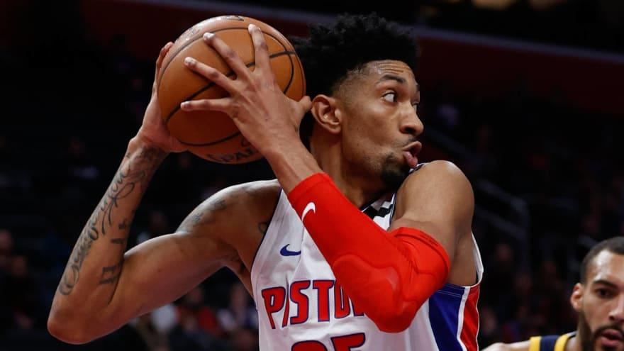 Report: Pistons' Christian Wood 'feeling great and fully recovered' from coronavirus
