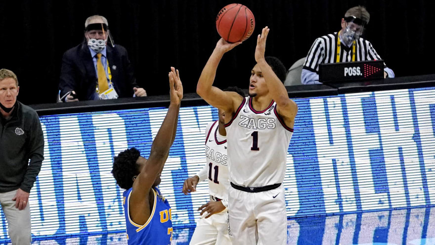 Jalen Suggs' buzzer-beater sends Zags to championship game