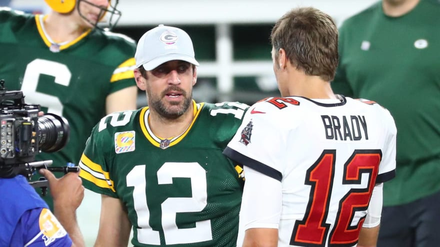Brady, Rodgers troll Packers during 'The Match' promo