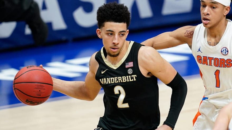 Scotty Pippen Jr. declares for draft, retains college eligibility