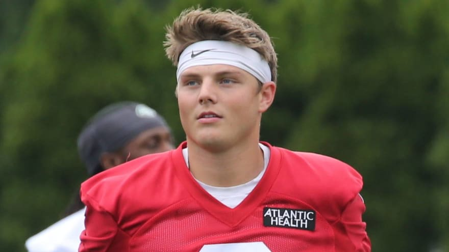 This is why Zach Wilson has yet to sign rookie deal with Jets